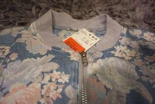 mango floral jacket style