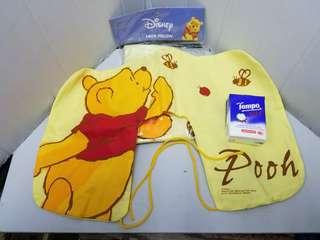 全新正貨,Winnie the Pooh 吹氣頸枕 Neck Pillow