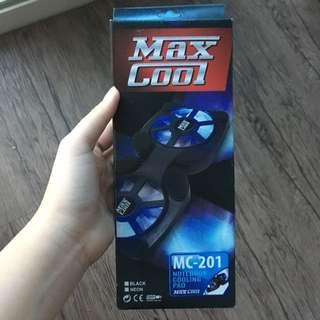 Max cool kipas leptop / pendingin mesin leptop
