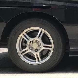 """Honda 15"""" Alloy Rim"""