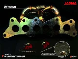 Header Turbo JASMA MIRA L2 L2s banana exhaust kancil