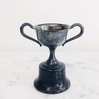 Vintage Rogers Silverplated Trophy - Small