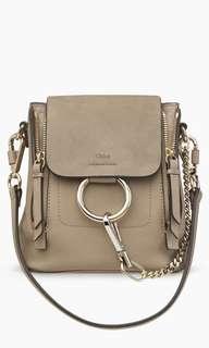 Chloe Faye Mini Backpack (Motty Grey)