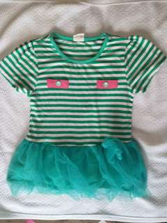 Green Tutu Dress 1yr old