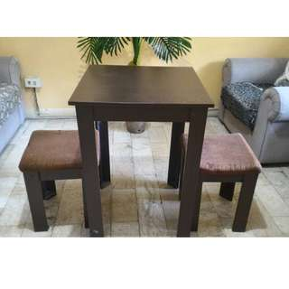 Table with matching stools
