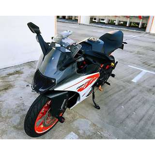 KTM RC200 Carry On Installment