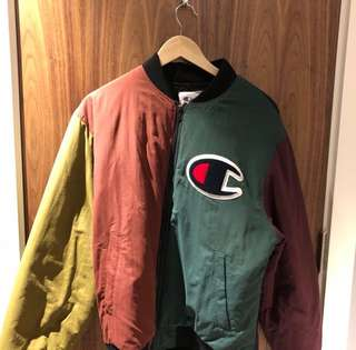 SUPREME X CHAMPION Boomber jacket
