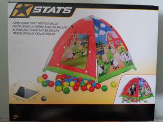 Stats Tent with Balls