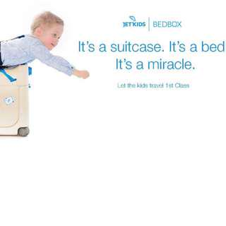 JetKids Premium Ride On Luggage - LIMITED TIME - Turn your airplane seat into a BED
