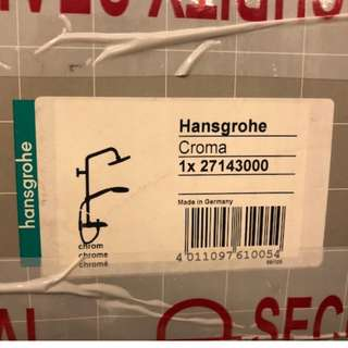 Brand New Hansgrohe Croma 100 Rain Shower Set