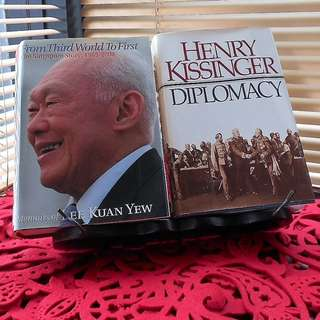 Lee Kuan Yew LKY & Henry Kissinger Hardcover Book - Individual or Bundle Sale