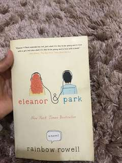 Eleanor & Park novel books / buku novel