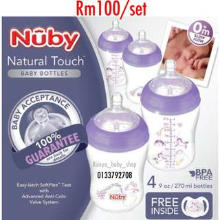 Nuby unicorn set
