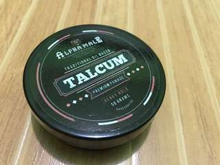 Alpha Male Premium Pomade Talcum Scent