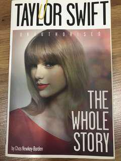 Taylor Swift the whole story by cChas Newkey Burden