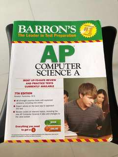 Barron's AP Computer Science 7 th Ed