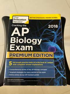 Princeton Review AP Biology 2018