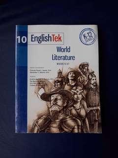 EnglishTek 10 Worktext