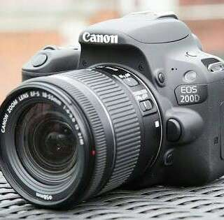 Camera canon eos 200D bisa kredit proses cepat