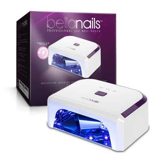 252.BellaNails Professional 21W LED Nail Lamp