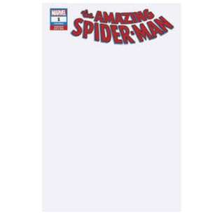 The Amazing Spider-man #1 Blank Variant