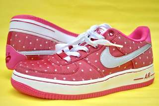 Nike Air Force 1 GS Valentines Day (red, pink, silver)