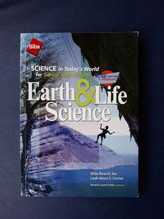 Earth and Life Science for SHS