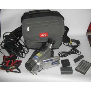 JVC Camcorder Handycam with Camera Bag + Accessories Faulty