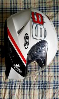 HJC IS-17 Lorenzo Replica Fullface Helmet