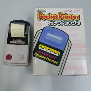 Game boy pocket printer
