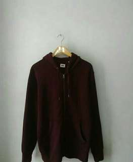 Jaket zipper uniqlo