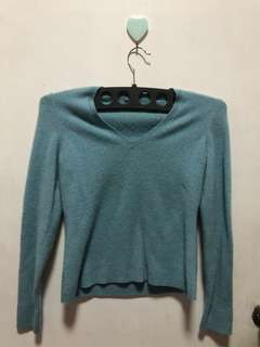 Ann Taylor Knitted V-Neck Sweater