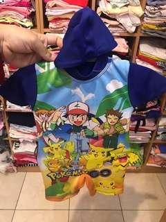 Baju Renang Baby Pokemon (18-24m)