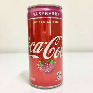Coca-Cola Australia 200ml Limited Edition Raspberry Full Can