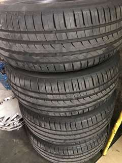 Tayar Second 225/55/R16 pirreli 90%
