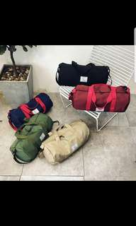 48×24×17cm Travel Oversized Canvas Strong Duffle Bag