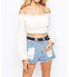 MISSGUIDED Gypsy Top