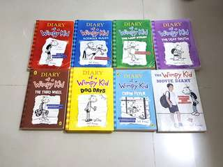 Diary of a wimpy kid 英文
