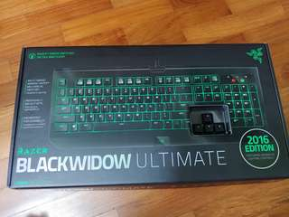Razer Blackwidow Ultimate 2016 Edition (Razer Green Switches)