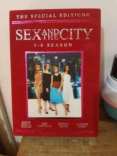 Sex and the city // seasons 1 - 6 box set.