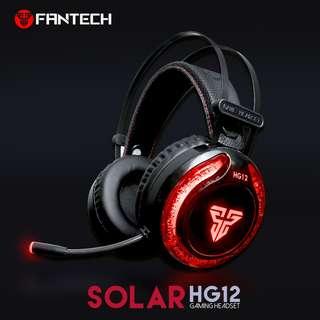 HG12 SOLAR HEADPHONE (GAMING HEAD SET)