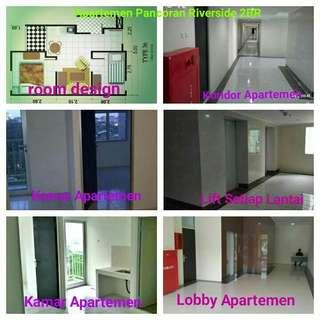 Dijual Apartemen Panvoran Riverside 2B