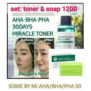 SET: Miracle Toner / Soap