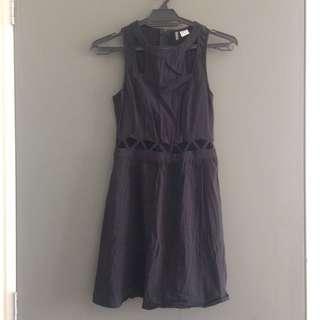 [EUR 34] H&M Black Cut Out Dress