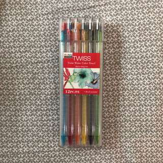 Name Your Price! Twist Watercolor Pencils (Set of 12)