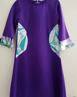 Jubah Hanis by N'huda Design (Purple)