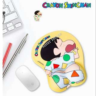 (現貨) 🆕🇰🇷蠟筆小新睡衣動感滑鼠墊 Crayon Shin-chan Mouse Pad