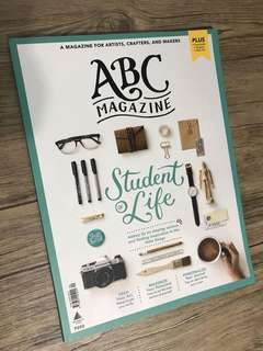 ABC Magazine - Student of Life by Abbey Sy