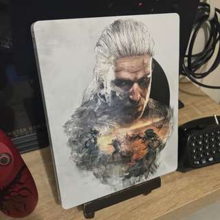 The Witcher 3 steelbook (G2 size, no game)
