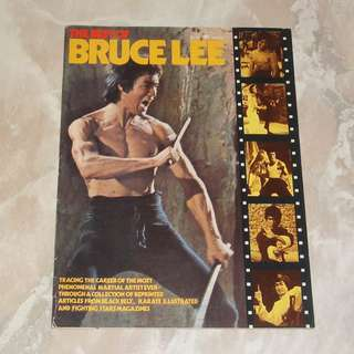 The Best Of Bruce Lee Magazine 1974 Black Belt USA Enter The Dragon Fist Of Fury Chuck Norris Bob Wall